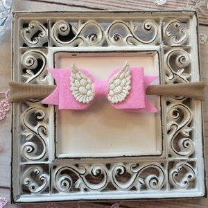 Other - Boutique Baby Girls Angel Wings Headband